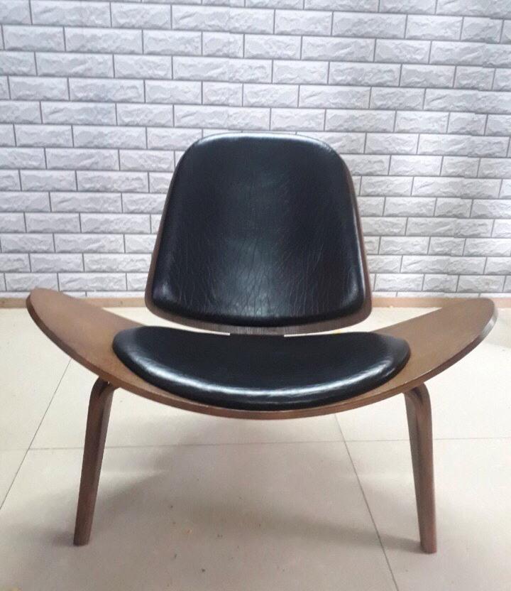 Ghế Shell đệm gỗ sang trọng GLM35