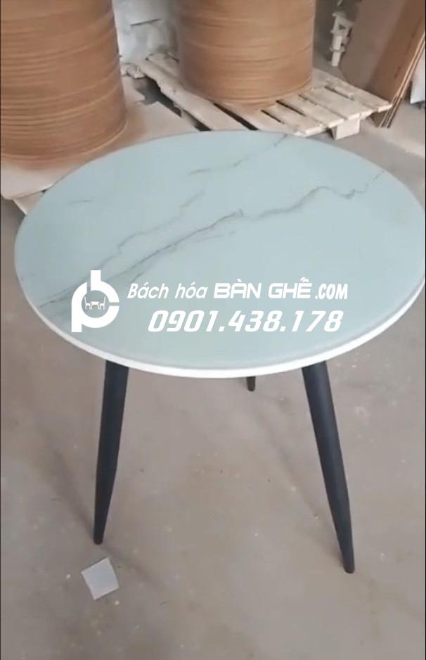 Bàn cafe chân sắt BST02