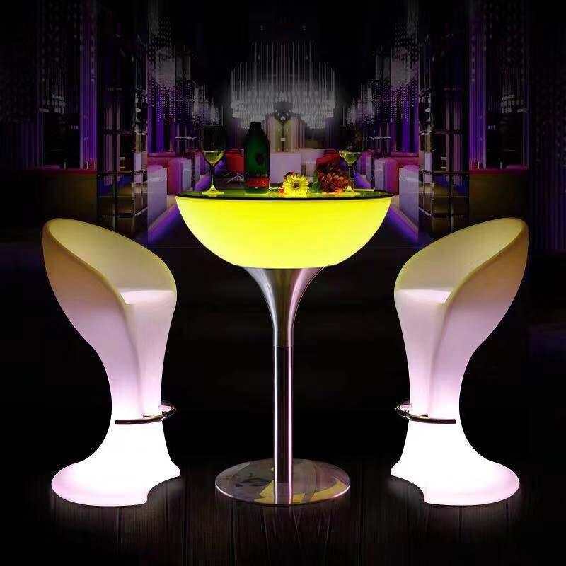Bàn ghế led phát sáng quán bar karaoke