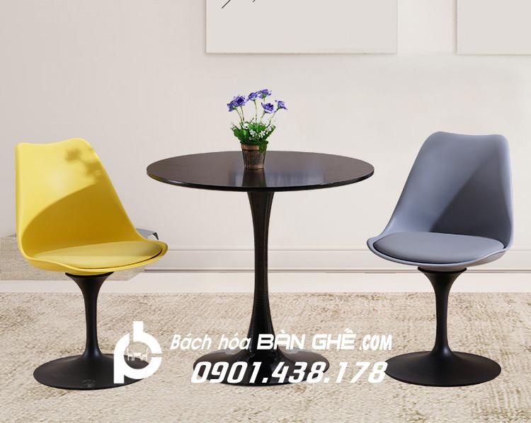 Bộ bàn ghế Tulip 1 bàn 2 ghế GLM32