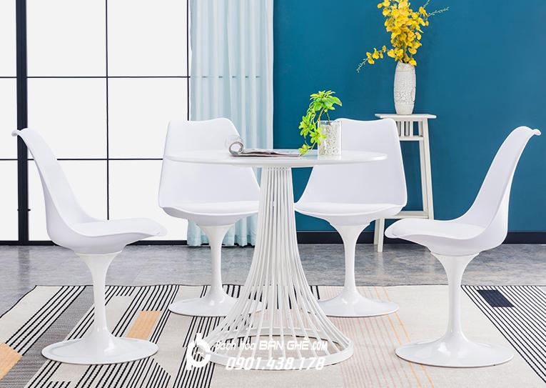 Bộ bàn nôm 4 ghế Tulip GLM32