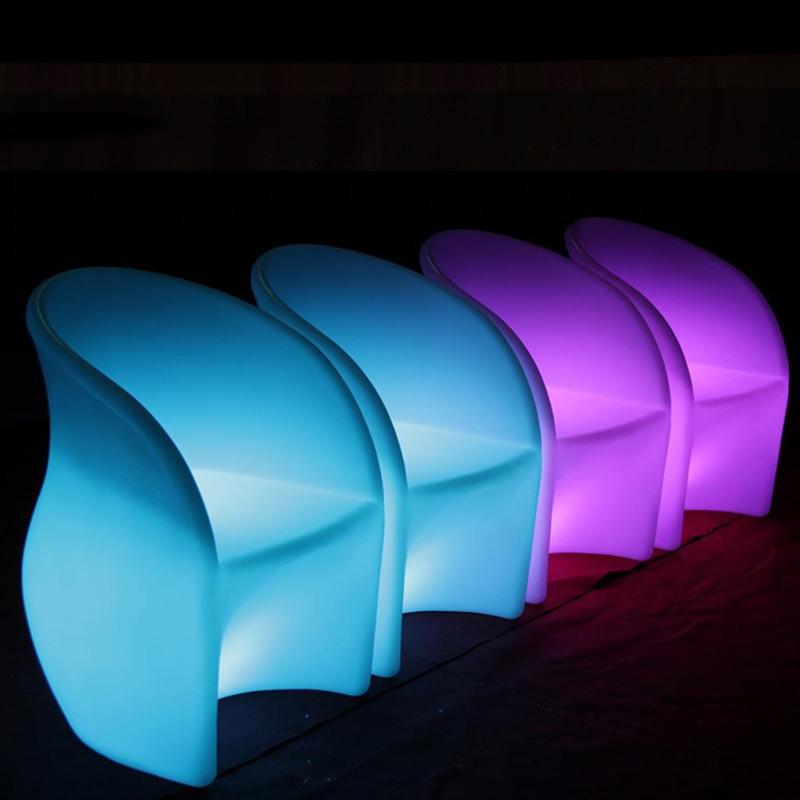 Ghế nhựa led phát sáng giá rẻ tại HCM