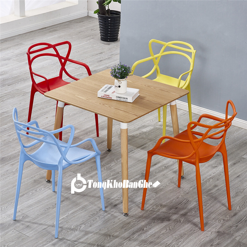 Bộ bàn ghế nhựa tiếp khách văn phòng