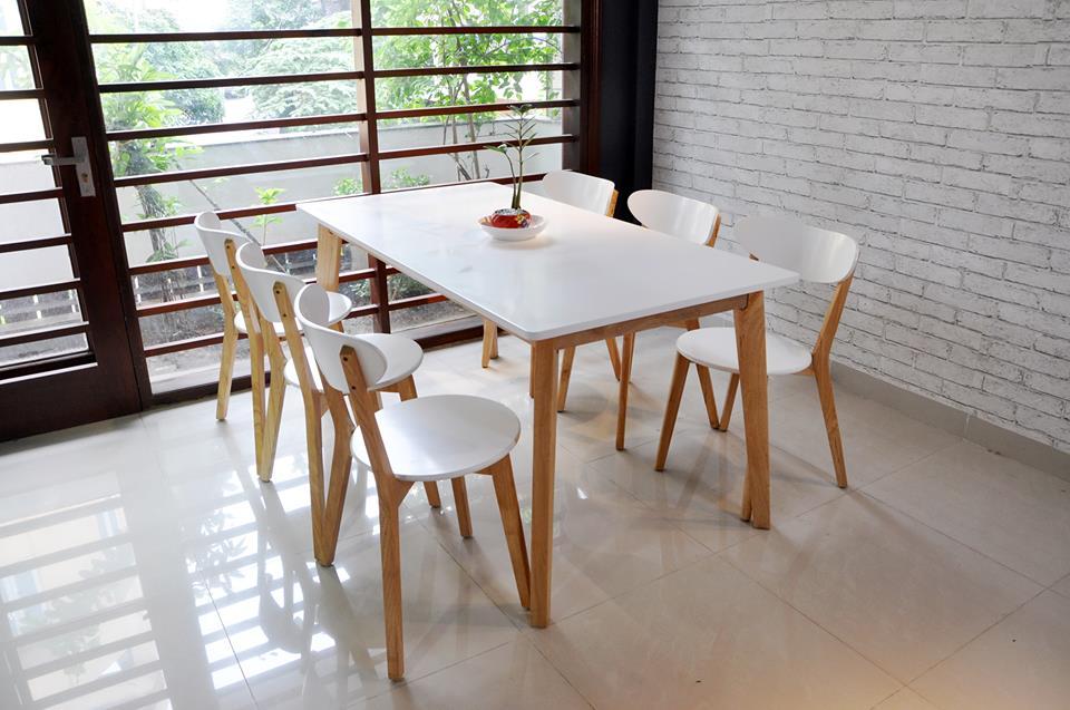 Mẫu bàn ghế nhà hàng